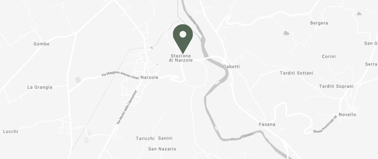 Mappa Vivai Gatti Paolo